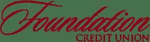 foundation credit union logo, vector image